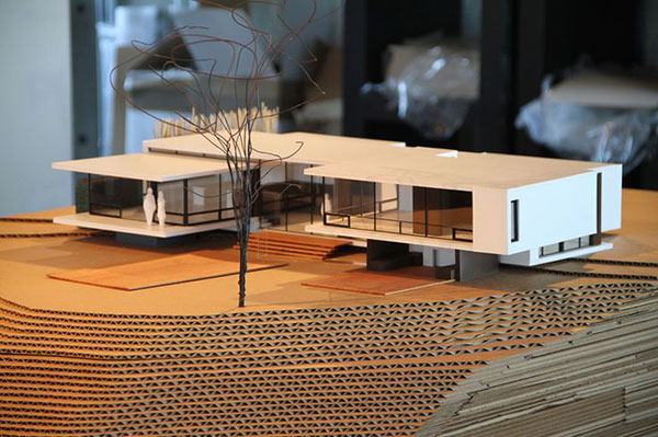Architectural model 1 - پنج روش پرزنت در معماری برای بازاریابی پروژهها