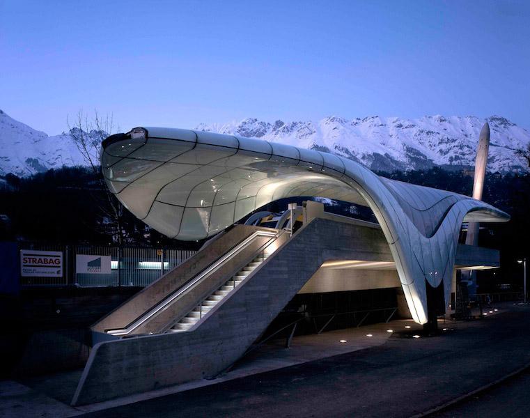 Nord park - نورپردازی معماری زاها حدید