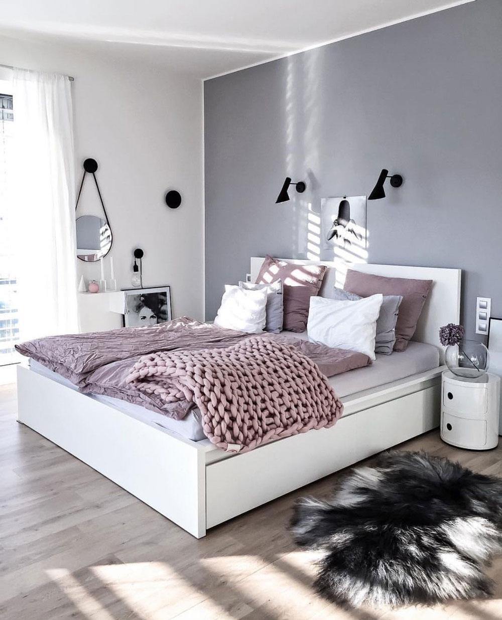 رنگ و تزیین اتاق خواب