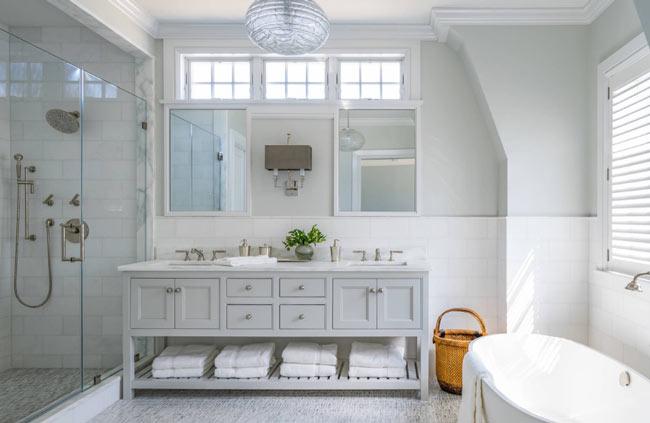 نورپردازی داخلی حمام