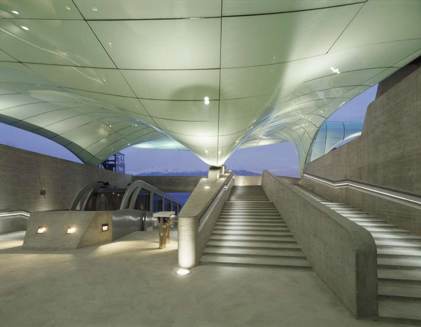 nord park hadid 1 - نورپردازی معماری زاها حدید