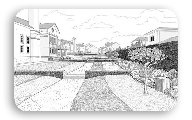 perspective 1111 - پرسپکتیو تک نقطه ای ، پرسپکتیو یک نقطه ای