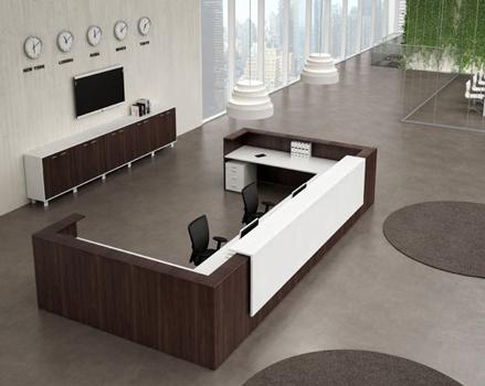 طراحی میز پذیرش