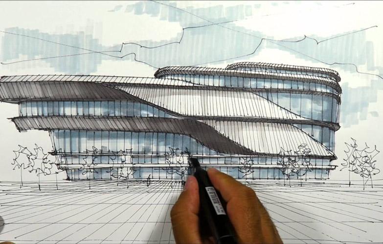 sckeching architect - ۱۰ نکته برای طراحی اسکیس معماری