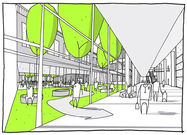 sketch 2 peresent - پنج روش پرزنت در معماری برای بازاریابی پروژهها