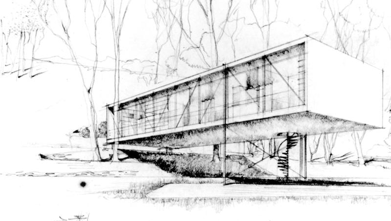 sketching bulding - ۱۰ نکته برای طراحی اسکیس معماری