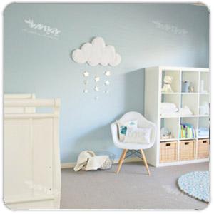 چند ایده شیک برای دکوراسیون اتاق نوزاد
