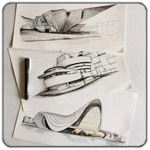 x25 - ۱۰ تمرین ضروری اسکیس برای معماران