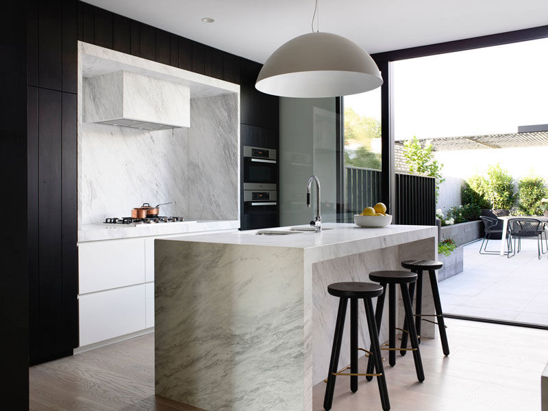 دکوراسیون آشپزخانه و نورپردازی