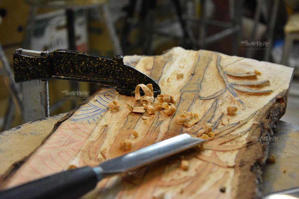 آموزشگاه خلاقیت با چوب