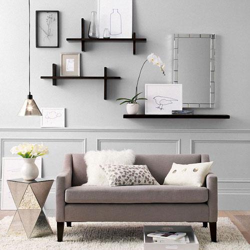 shelves - چند اشتباه رایج در چیدمان منزل