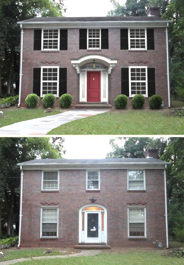 نمای خارجی منزل