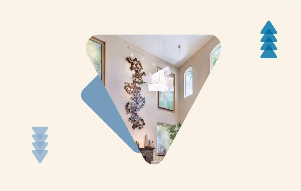 تزیین سقف خانه