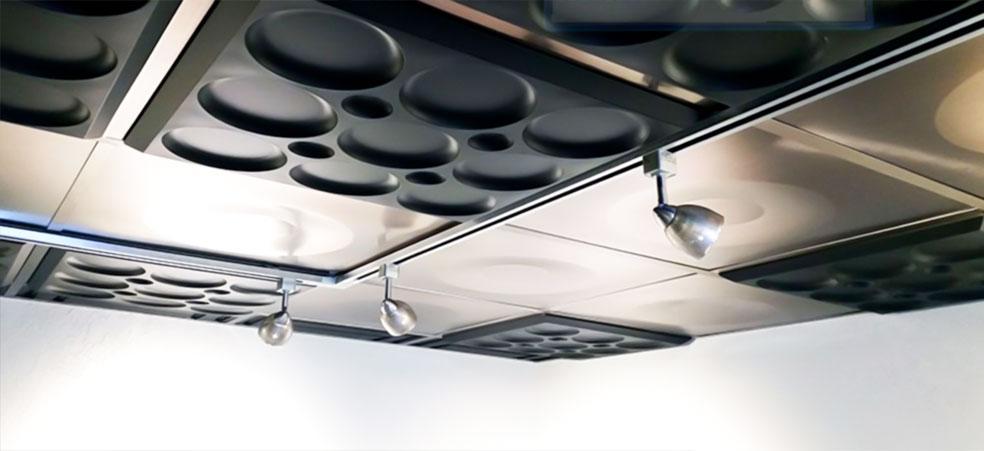 سقف کاذب بافت دار