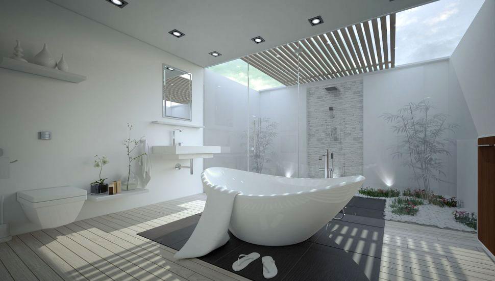 طراحی حمام مدرن