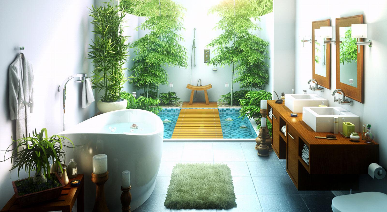 طراحی حمام داخلی