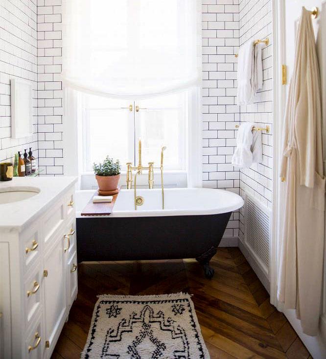 طراحی حمام کانتری