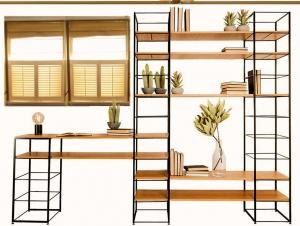طراحی قفسه در پذیرایی