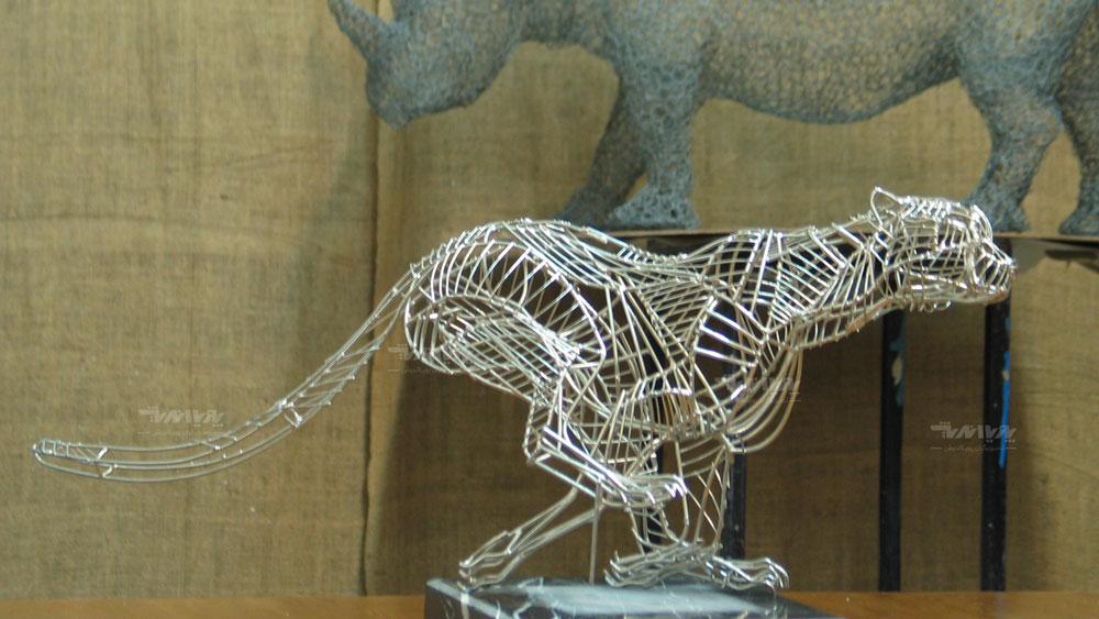 آموزش مجسمه سازی با فلز