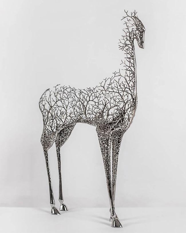 مجسمه سازی با فلز 1