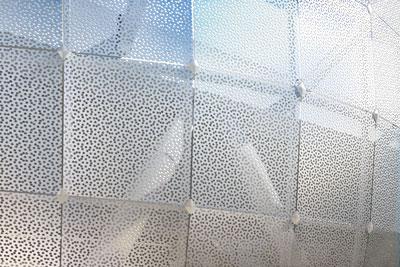 پانل های مشبک در معماری