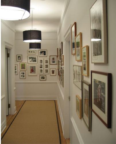 طراحی راهرو و نورپردازی