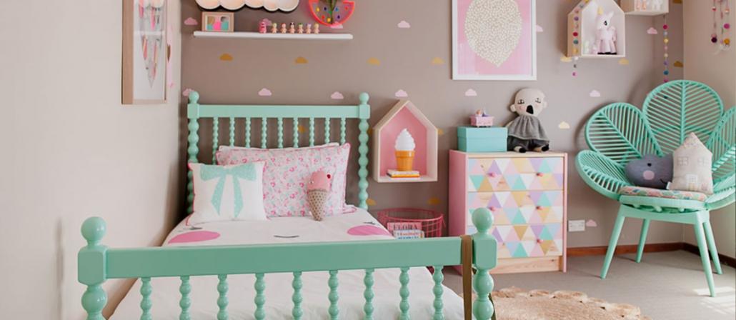 رنگ بژ در دکوراسیون داخلی اتاق کودک