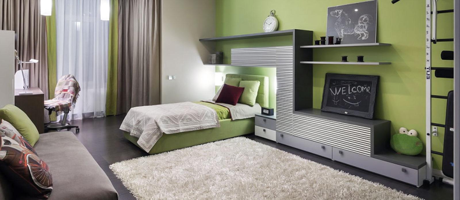 رنگ بژ در دکوراسیون داخلی اتاق خواب