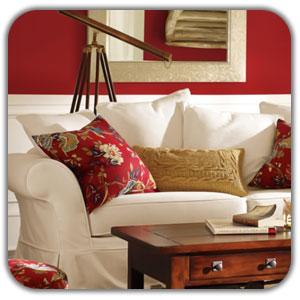 عکس رنگ قرمز در دکوراسیون داخلی