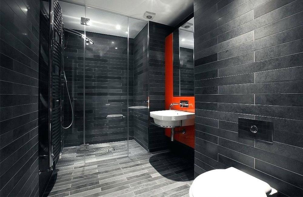 قرمز در دکوراسیون داخلی حمام