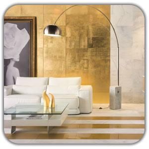 طلایی در دکوراسیون داخلی کلاسیک