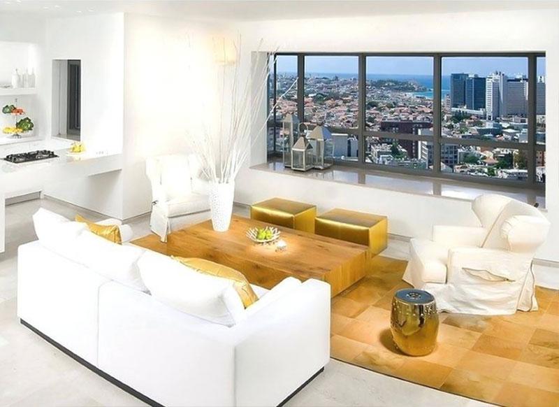 طلایی در دکوراسیون داخلی وسایل خانه