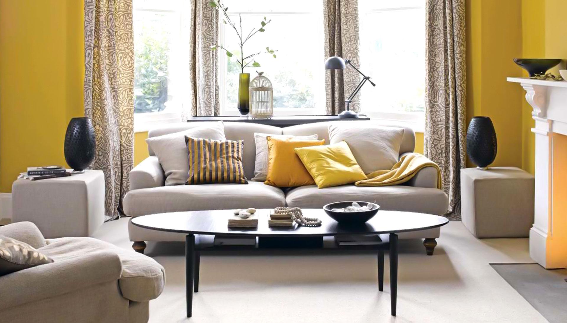 ترکیب بندی زرد در طراحی داخلی