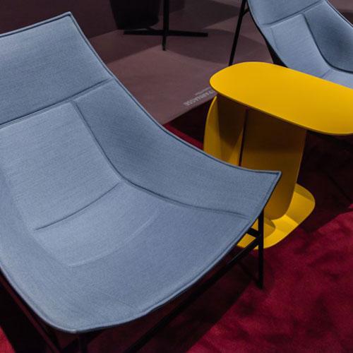 آبی و زرد در طراحی داخلی