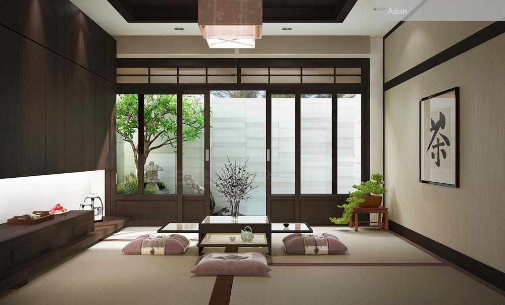 سبک طراحی داخلی آسیایی