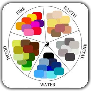 فنگ شویی رنگ ها