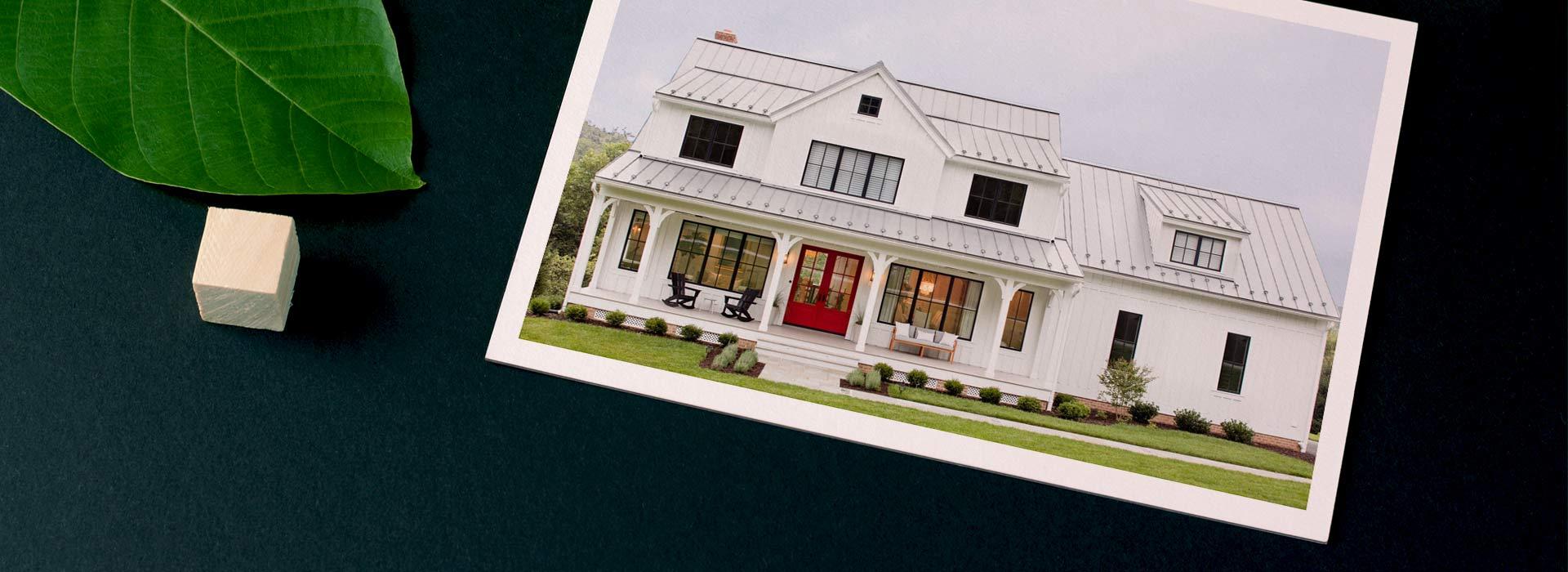 سبک معماری خانه های روستایی