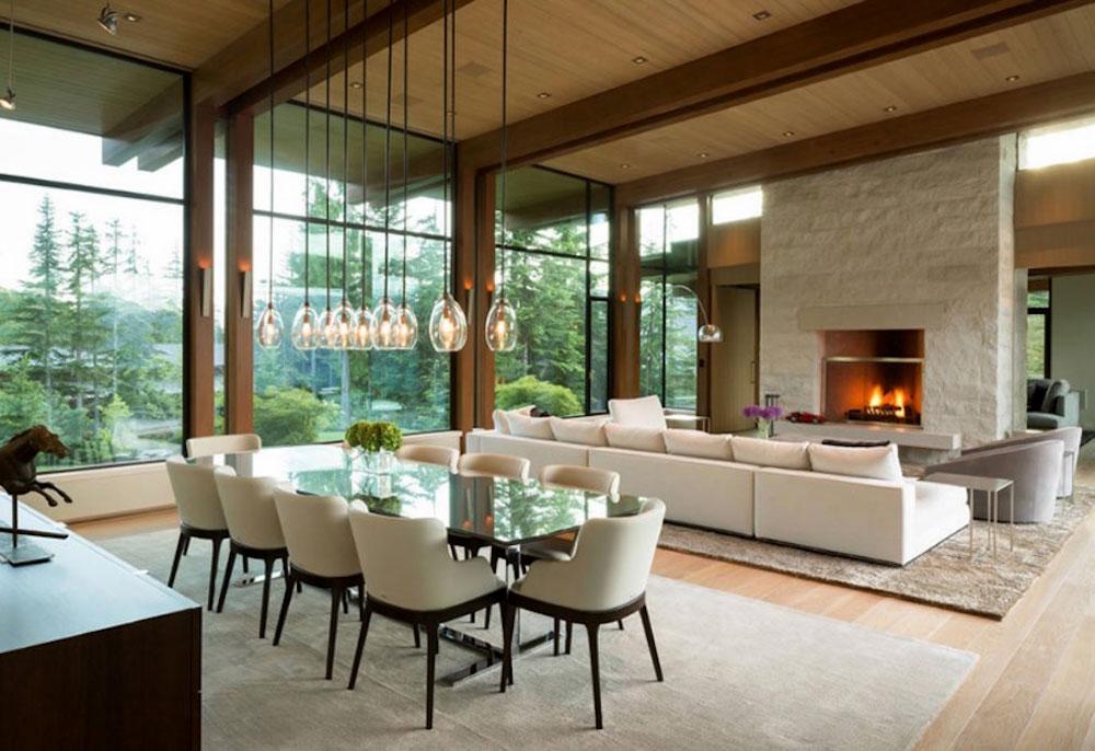 طراحی داخلی به سبک معاصر آشپزخانه