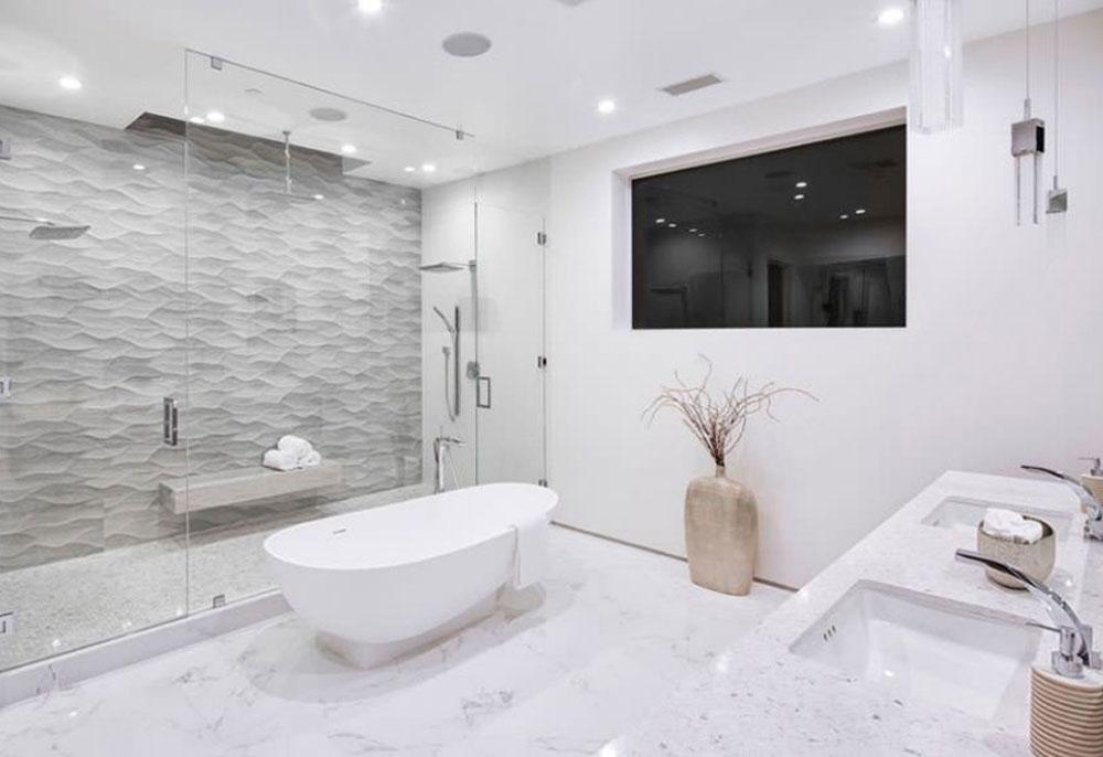 طراحی داخلی به سبک معاصر حمام