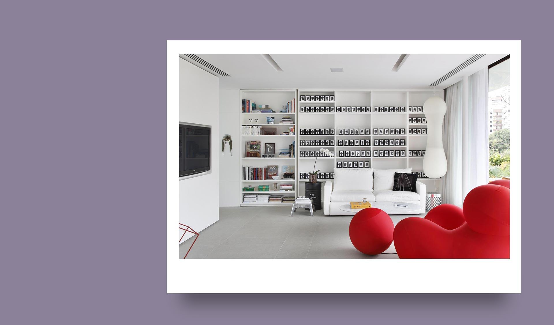 کنتراست در طراحی داخلی با استفاده از رنگ