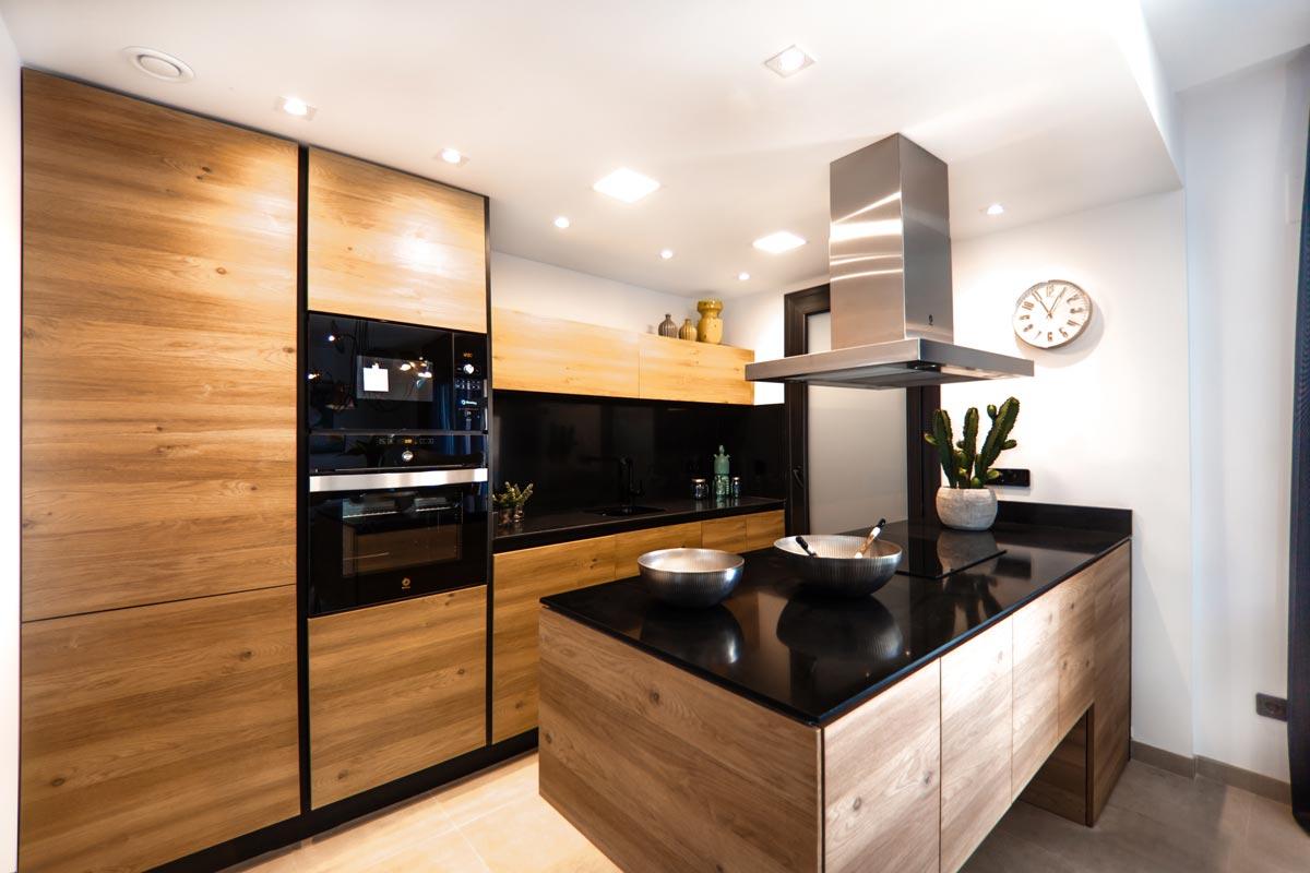 طراحی آشپزخانه مدیترانه ای