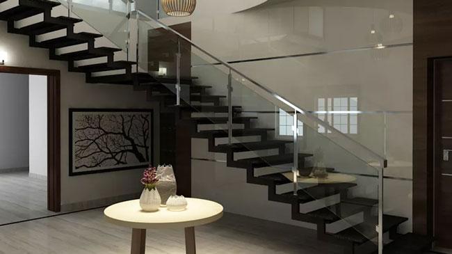 چطور می توانم در طراحی پلکان از فضا بیشترین استفاده را ببریم