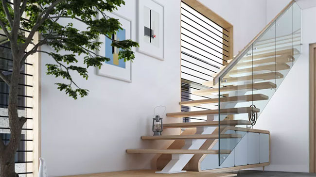 طراحی پلکان مدرن