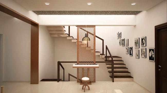 طراحی پلکان آپارتمان