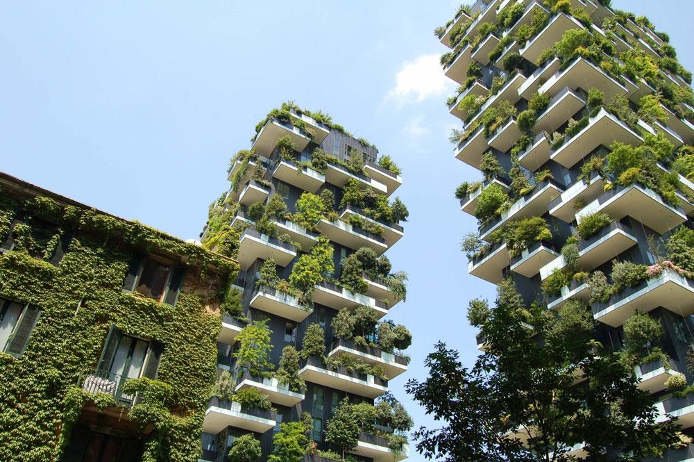 راه حل های طراحی نمای ساختمان تجاری