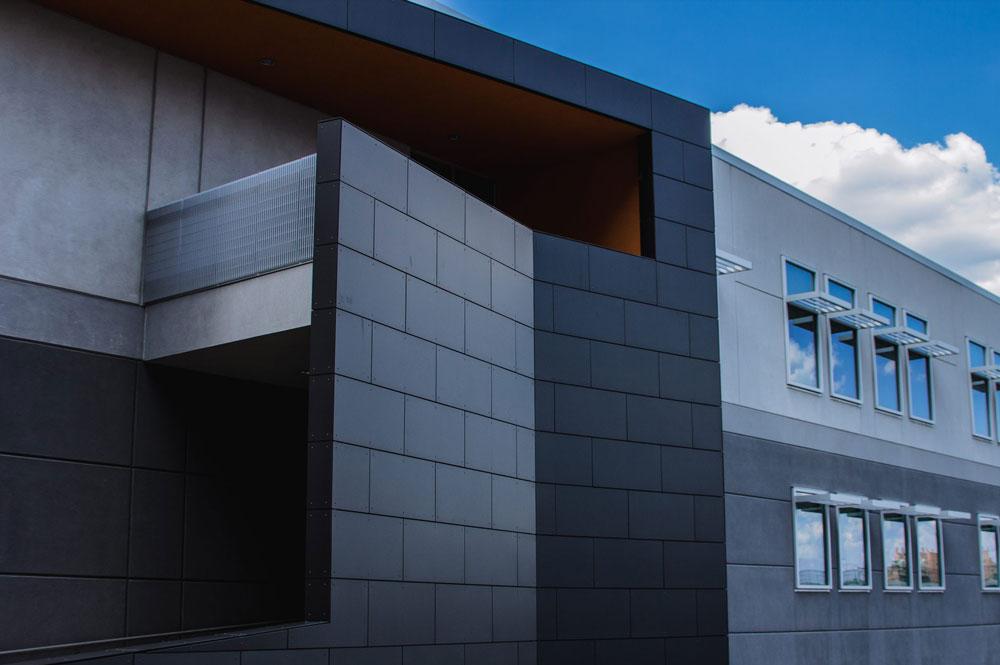 طراحی نمای ساختمان تجاری و اداری