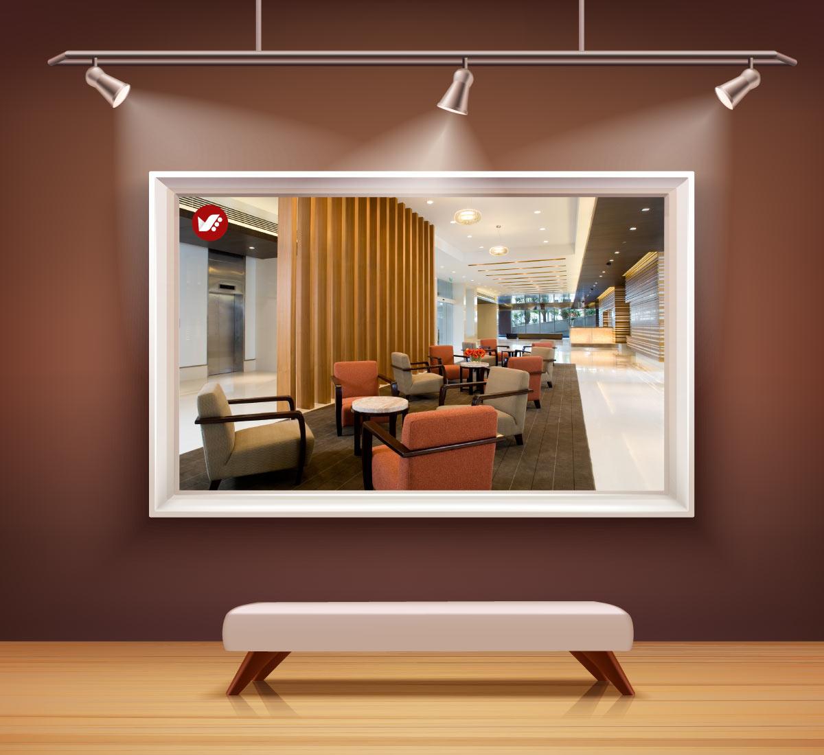طراحی لابی آپارتمان