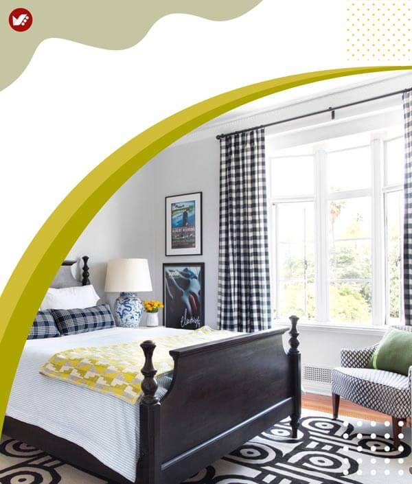 اتاق هایتان را بزرگتر جلوه دهید