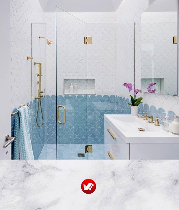 رنگ حمام