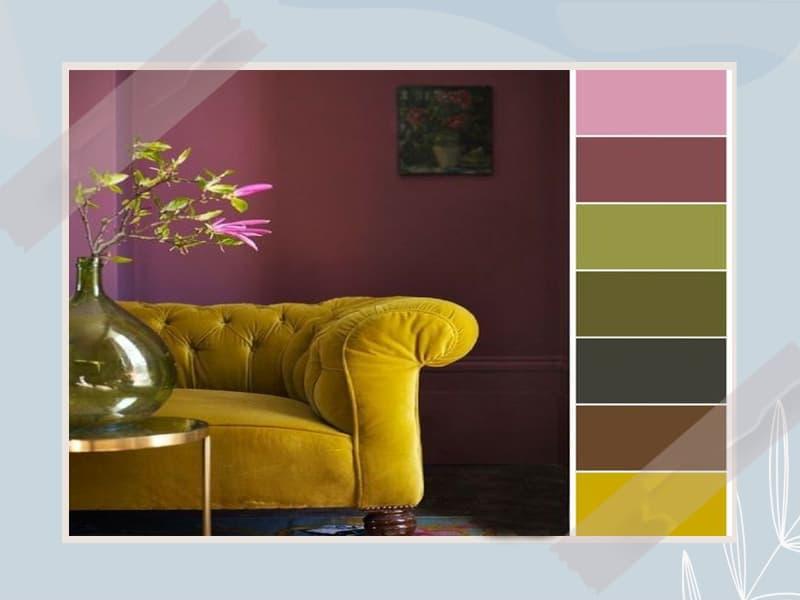 رنگ و هارمونی در دکوراسیون منزل